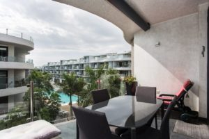 Palm Mar Apartment Terrace View