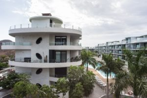 Las Olas Complex Inside Palm Mar Tenerife